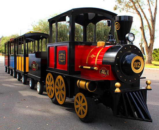 Trackless Train for Malls or Parties