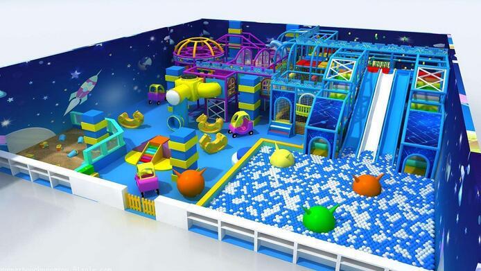 Indoor amusement park rides for kids